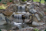 water fall landscaping